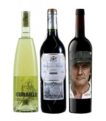 comprar vino - vino tinto - caraballas - marques de riscal reserva - matsu