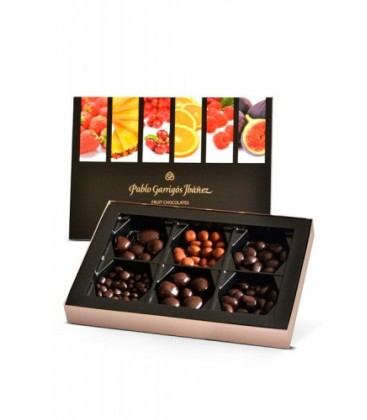 fruit chocolates 6 variedades - pablo garrig