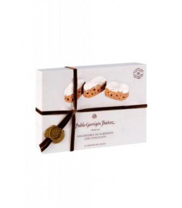 polvorones de almendra con chocolate premium garrig