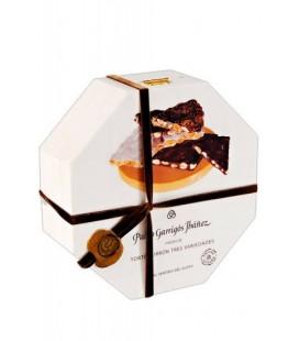 Torta Turrón 3 variedades Premium Garrigós 600gr