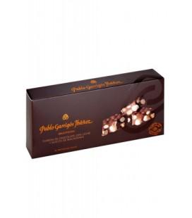 Turrón Choco leche y Macadamia Delicatessen Garrigós 300gr