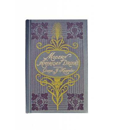 modern american drinks - george j. kappeler - libro de recetas - cocteler