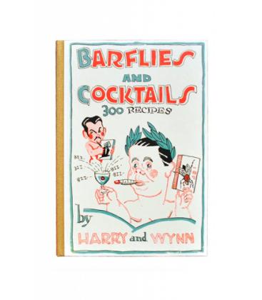 barflies and cocktails - harry mcelhone - coktails - cocteleria - libro recetas