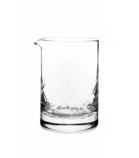 vaso mezclador yarai flat base 550 ml - cocktail kingdom - cocteleria