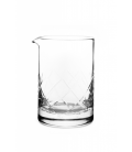 vaso mezclador yarai flat base 550 ml - cocktail kingdom - cocteleria