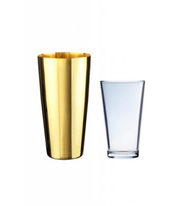 coctelera boston dorada - coctelera - cocteleria - urban bar - coctel