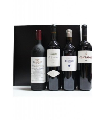 estuche vinos de lujo