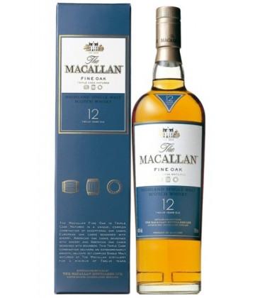 the macallan 12 years fine oak