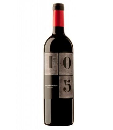 Resultado de imagen de vino tinto 2015 viña 105 DO cigales garnacha y tempranillo
