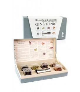 Estuche Selección 6 Botánicos Gin & Tonic + Medidor