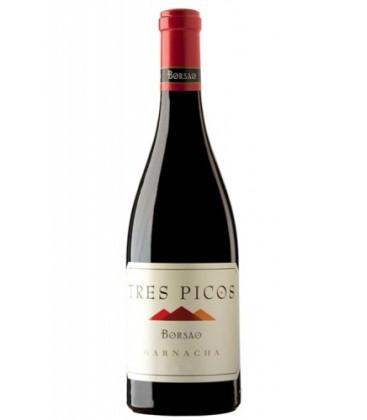 vino borsao tres picos 2014 - campo de borja