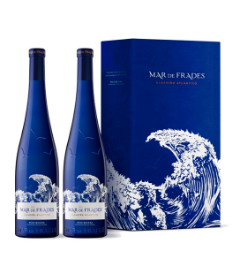Estuche 2 botellas Mar de Frades 2019
