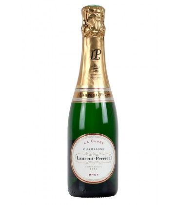 laurent perrier brut 375ml - champagne - vino espumoso - francia
