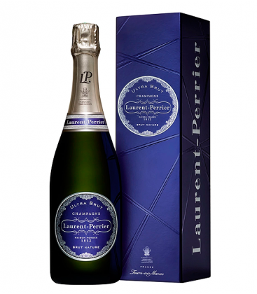 laurent perrier ultra brut estcuado - champagne - vino espumoso - francia