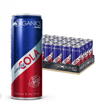 Organics Simply Cola by Red Bull 25cl Caja 24 Uds
