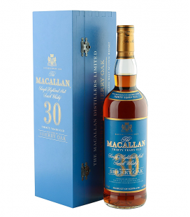 Macallan 30 Años Sherry Oak Blue Label