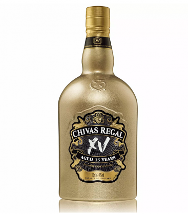 Chivas XV Gold Bottle