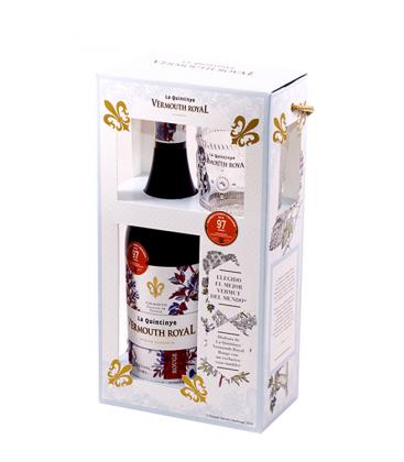 pack quintinye rouge + regalo vaso tallado