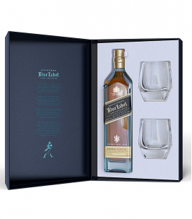 Estuche Especial Johnnie Walker Blue Label + 2 Vasos Richard Malone Edition