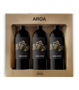 Estuche 3 Botellas Aroa Jauna 2014