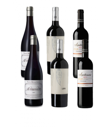 wine box - lopez de haro crianza - tinto - comprar tinto - laya - vino