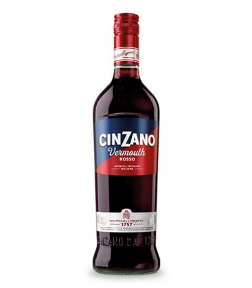 cinzano rosso 1l - vermut rojo - cinzano - italia