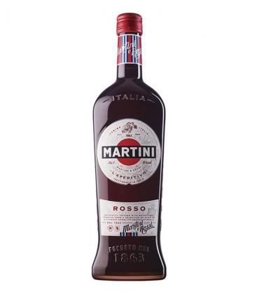 martini rosso 1l - vermut rojo - italia