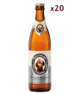 Franziskaner Weissbier Kristall-Klar Caja 20 uds 50cl
