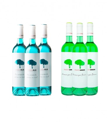 Pack Pasion Duo Blue Green