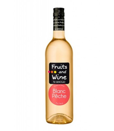 fruits & wine blanco melocot