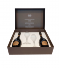 Estuche 2 Botellas Ars Collecta + 2 Copas