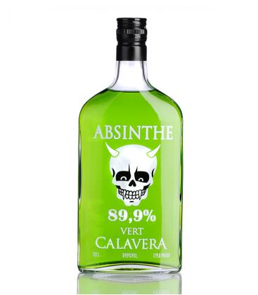 Absenta La Calavera Verde
