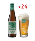 La Sagra Premium 33 CL Caja 24 UDS