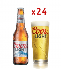 Coors Light 33 CL Caja 24 Uds