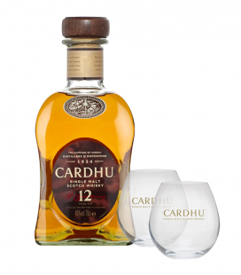 Cardhu 12 años + 2 vasos