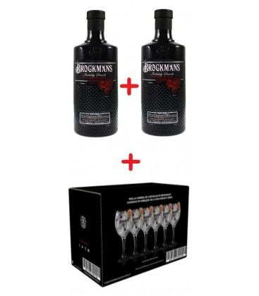 gin brockman's - ginebra premium - brockmans