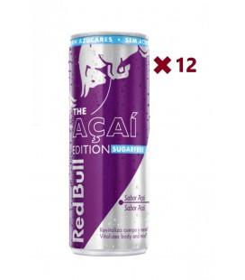 Red Bull Sugarfree Açaí Edition Caja 12Uds