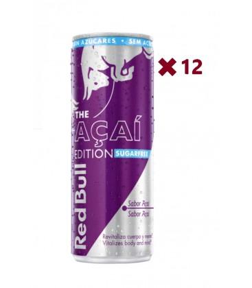 red bull sugarfree - bebida energ