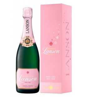 Lanson Rose Label Estuchado