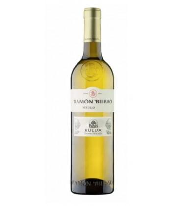 vino blanco monte blanco - rueda - ramon bilbao