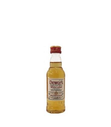 miniatura whisky white label dewars