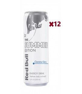 Red Bull Coconut Edition Caja 12Uds