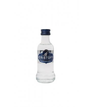 miniatura vodka eristoff