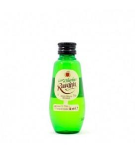 miniatura licor hierbas ruavieja - comprar licor de hierbas ruavieja - licor