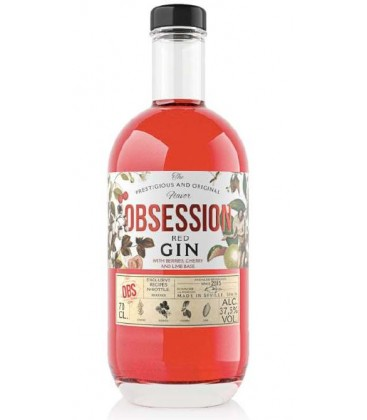 GIN OBSSESION RED 70CL