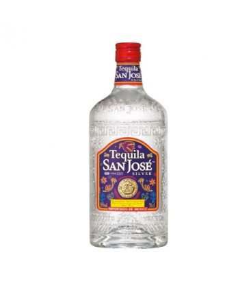 TEQUILA SAN JOSE SILVER 70CL