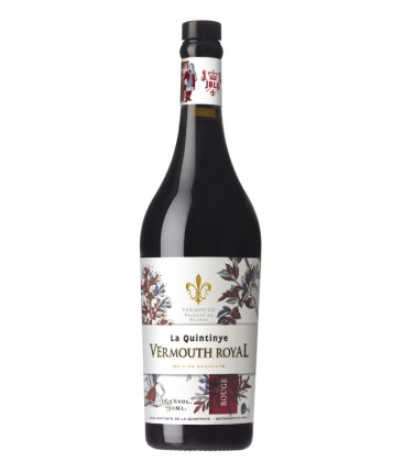 LA QUINTINYE VERMOUTH ROYALE ROUGE 375CL