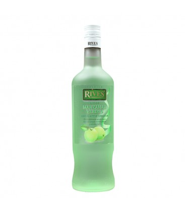 LICOR DE MANZANA VERDE RIVES 70CL