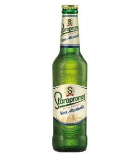 CERVEZA STAROPRAMEN SIN ALCOHOL 33CL CAJA DE 24 UND.