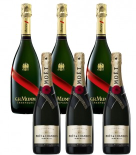 Pack Mumm Grand Cordon & Moet